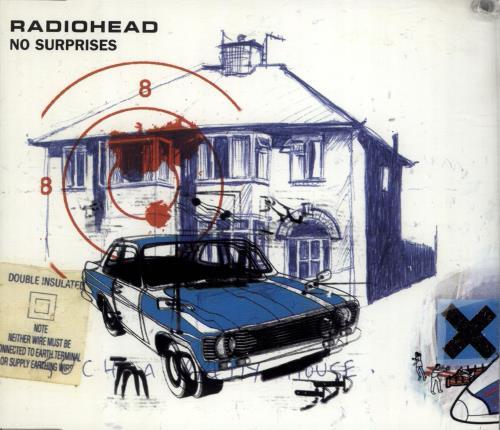 "Radiohead No Surprises CD single (CD5 / 5"") Dutch R-HC5NO691983"