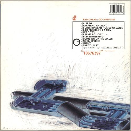 Radiohead OK Computer [2008 Edition] 2-LP vinyl record set (Double Album) UK R-H2LOK444599