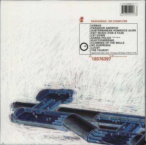 Radiohead OK Computer - 180gm - EX 2-LP vinyl record set (Double Album) UK R-H2LOK764002
