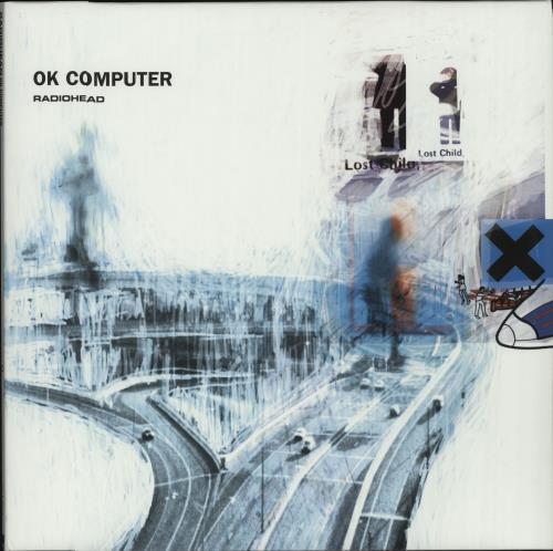Radiohead OK Computer - 180gm 2-LP vinyl record set (Double Album) UK R-H2LOK656969