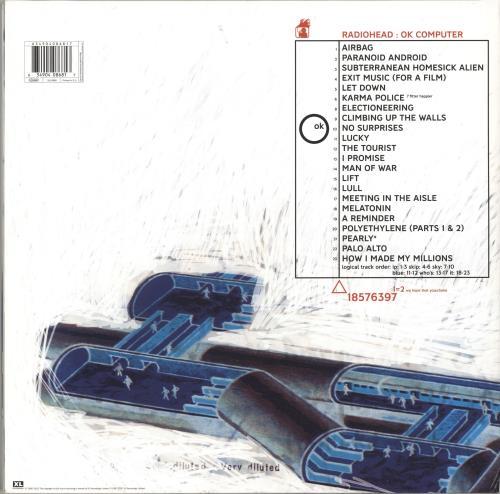 Radiohead OK Computer OKNOTOK 1997 2017 - 180gm 3-LP vinyl record set (Triple Album) UK R-H3LOK694371