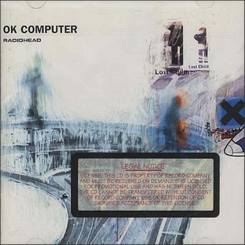 Radiohead OK Computer CD album (CDLP) US R-HCDOK378246