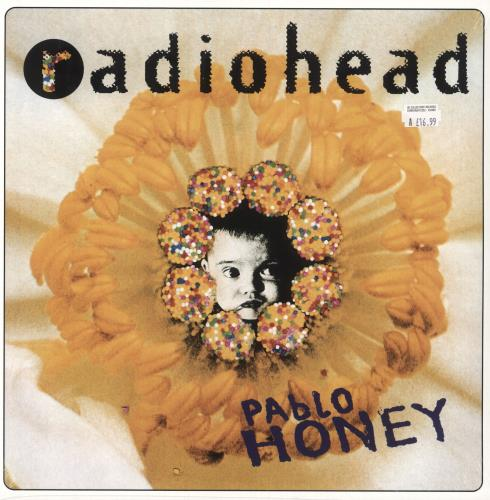 Radiohead Pablo Honey vinyl LP album (LP record) UK R-HLPPA748977