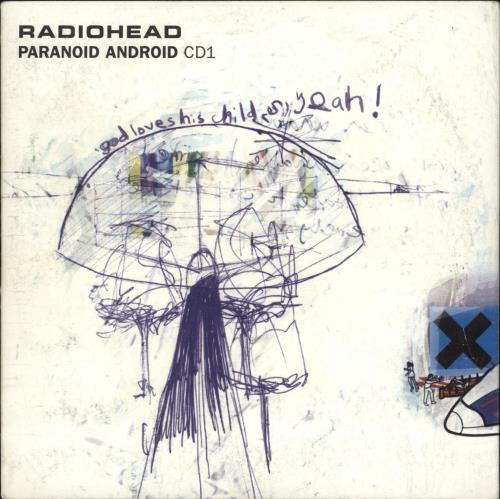 Radiohead Paranoid Android - 2nd 2-CD single set (Double CD single) UK R-H2SPA165920