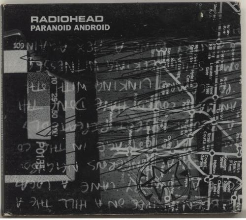 "Radiohead Paranoid Android - EX CD single (CD5 / 5"") Australian R-HC5PA696669"