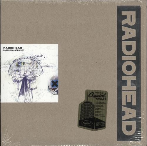 "Radiohead Paranoid Android EP1 12"" vinyl single (12 inch record / Maxi-single) US R-H12PA732453"