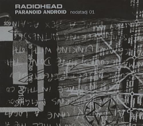 "Radiohead Paranoid Android CD single (CD5 / 5"") UK R-HC5PA85351"