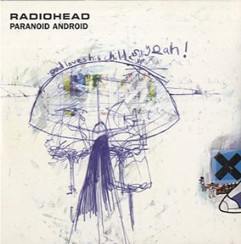 "Radiohead Paranoid Android CD single (CD5 / 5"") Dutch R-HC5PA88630"