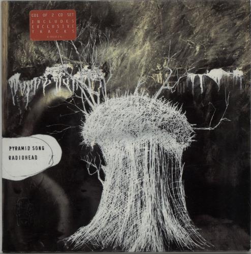 "Radiohead Pyramid Song - CD1 CD single (CD5 / 5"") UK R-HC5PY243973"