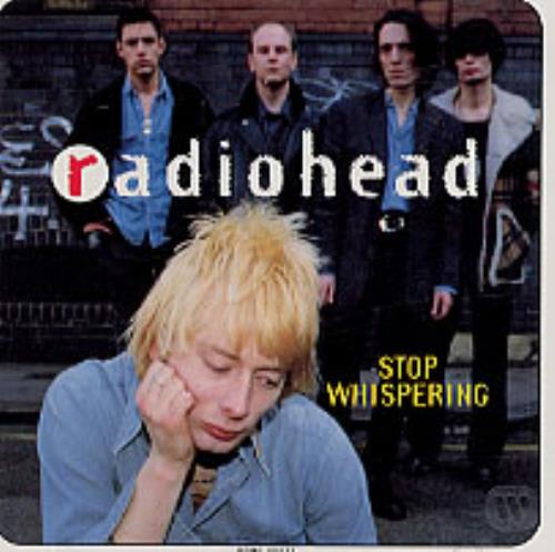 "Radiohead Stop Whispering CD single (CD5 / 5"") US R-HC5ST52007"