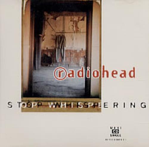 "Radiohead Stop Whispering CD single (CD5 / 5"") US R-HC5ST71243"