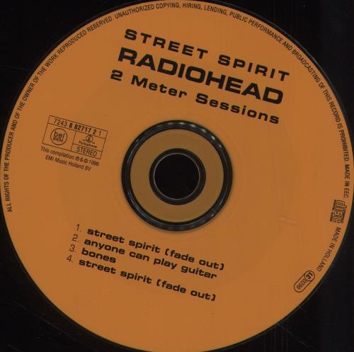 Radiohead Street Spirit (Fade Out) 2-CD single set (Double CD single) Dutch R-H2SST258771