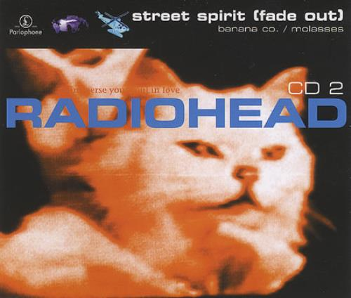 Radiohead Street Spirit - 2nd Issue + Poster 2-CD single set (Double CD single) UK R-H2SST165932