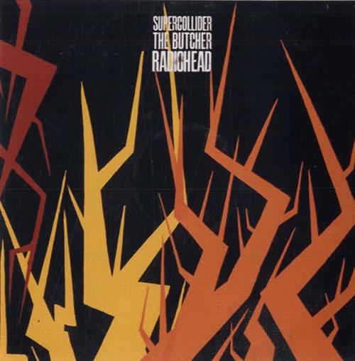 Radiohead Supercollider / The Butcher CD-R acetate UK R-HCRSU551701