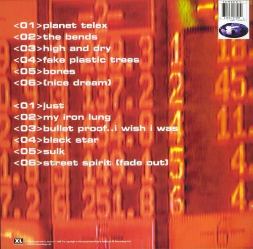 Radiohead The Bends - 180gram Vinyl vinyl LP album (LP record) UK R-HLPTH735214