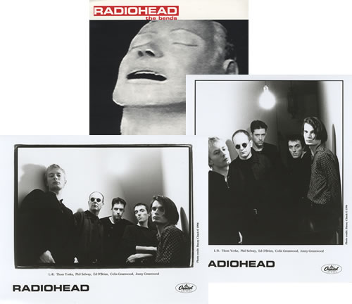 Radiohead The Bends media press pack US R-HPPTH73144