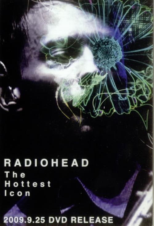 Radiohead The Hottest Icon handbill Japanese R-HHBTH545461