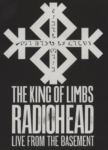 Radiohead The King Of Limbs: Live From The Basement DVD UK R-HDDTH759658