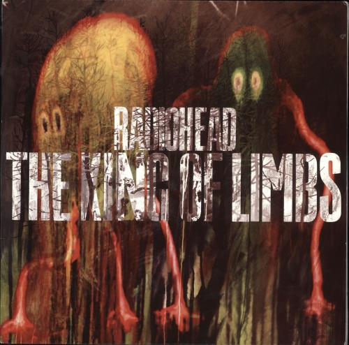 Radiohead The King Of Limbs vinyl LP album (LP record) UK R-HLPTH578991