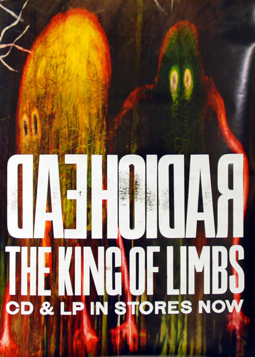 Radiohead The King Of Limbs poster UK R-HPOTH629505