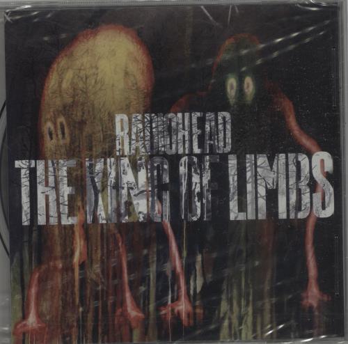 Radiohead The King Of Limbs CD album (CDLP) Japanese R-HCDTH659711