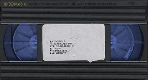 Radiohead The Pyramid Song video (VHS or PAL or NTSC) UK R-HVITH265770