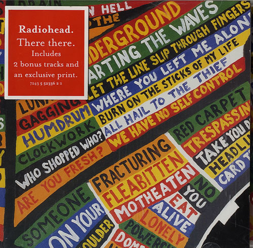 """Radiohead There There CD single (CD5 / 5"""") UK R-HC5TH246389"""