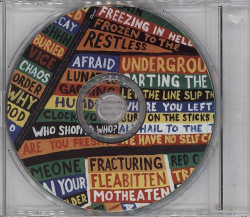 """Radiohead There There CD single (CD5 / 5"""") US R-HC5TH246392"""