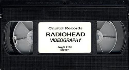 Radiohead Videography video (VHS or PAL or NTSC) US R-HVIVI112508