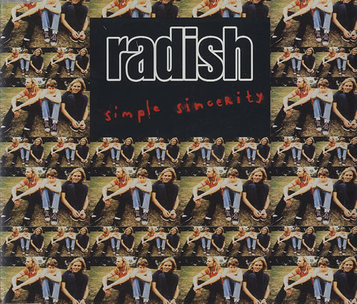 Radish Simple Sincerity 2-CD single set (Double CD single) UK RDH2SSI455636