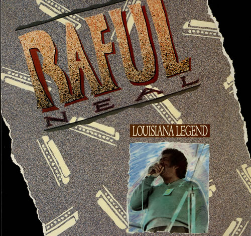 Raful Neal Louisiana Legend vinyl LP album (LP record) US RCILPLO552162
