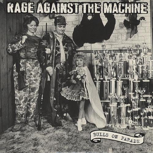 "Rage Against The Machine Bulls On Parade CD single (CD5 / 5"") Austrian RAGC5BU411886"
