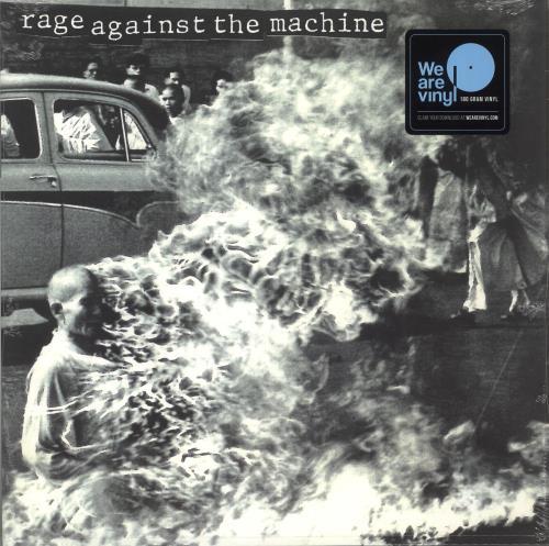 Rage Against The Machine Rage Against The Machine - Sealed vinyl LP album (LP record) UK RAGLPRA735933