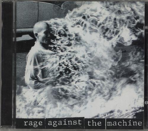 Rage Against The Machine Rage Against The Machine CD album (CDLP) UK RAGCDRA307113