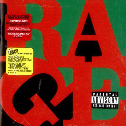 Rage Against The Machine Renegades Us 2 Cd Album Set