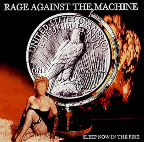 "Rage Against The Machine Sleep Now In The Fire CD single (CD5 / 5"") US RAGC5SL152606"