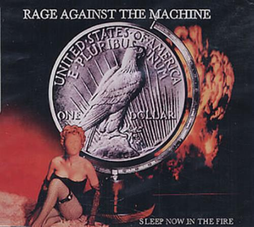 """Rage Against The Machine Sleep Now In The Fire CD single (CD5 / 5"""") Mexican RAGC5SL155427"""