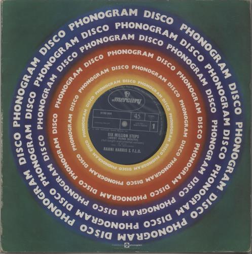 "Rahni Harris Six Million Steps (West Runs South) 12"" vinyl single (12 inch record / Maxi-single) UK XDI12SI663017"