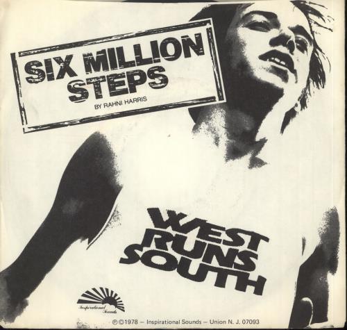 "Rahni Harris Six Million Steps (West Runs South) 7"" vinyl single (7 inch record) US XDI07SI717399"