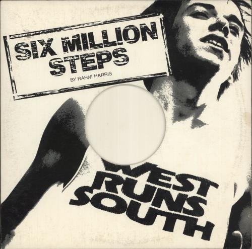"Rahni Harris Six Million Steps (West Runs South) 12"" vinyl single (12 inch record / Maxi-single) US XDI12SI724383"