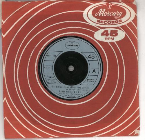 "Rahni Harris Six Million Steps (West Runs South) 7"" vinyl single (7 inch record) UK XDI07SI733961"