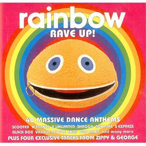 Rainbow [George & Zippy] Rave Up! 2 CD album set (Double CD) UK G&Z2CRA236745