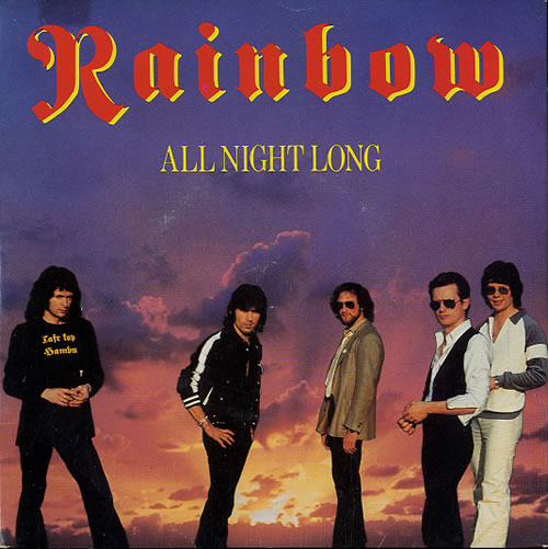Rainbow All Night Long P S Uk 7 Quot Vinyl Single 7 Inch
