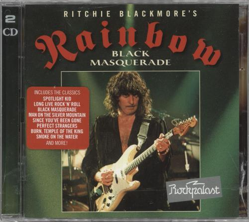 Rainbow Black Masquerade 2 CD album set (Double CD) German RBO2CBL739834