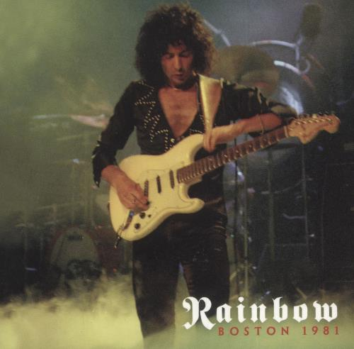Rainbow Boston 1981 CD album (CDLP) US RBOCDBO739875