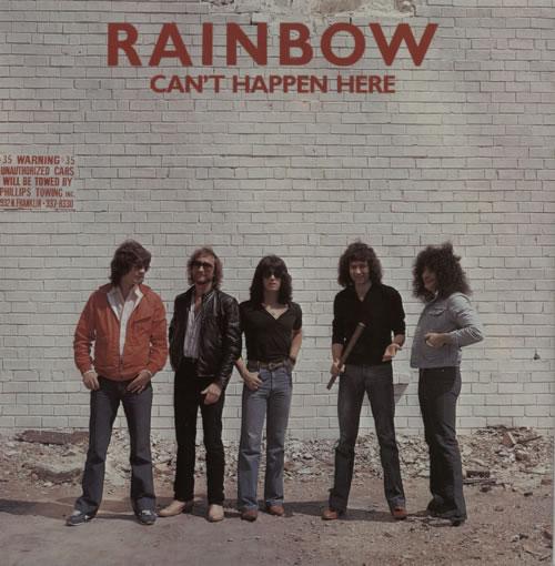 "Rainbow Can't Happen Here - P/S 7"" vinyl single (7 inch record) UK RBO07CA596373"