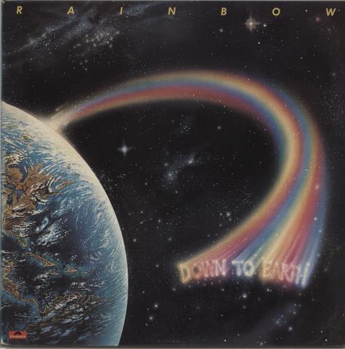 Rainbow Down To Earth - Black Vinyl vinyl LP album (LP record) UK RBOLPDO665172