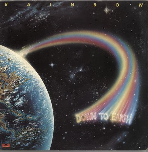 Rainbow Down To Earth - Clear Vinyl - Complete vinyl LP album (LP record) UK RBOLPDO653753