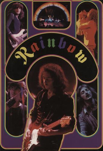Rainbow Japan Tour '78 + Ticket Stub tour programme Japanese RBOTRJA768886