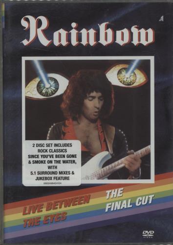 Rainbow Live Between The Eyes / The Final Cut DVD UK RBODDLI376477